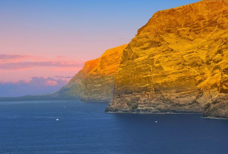 Acantilado de Los Gigantes, Tenerife.