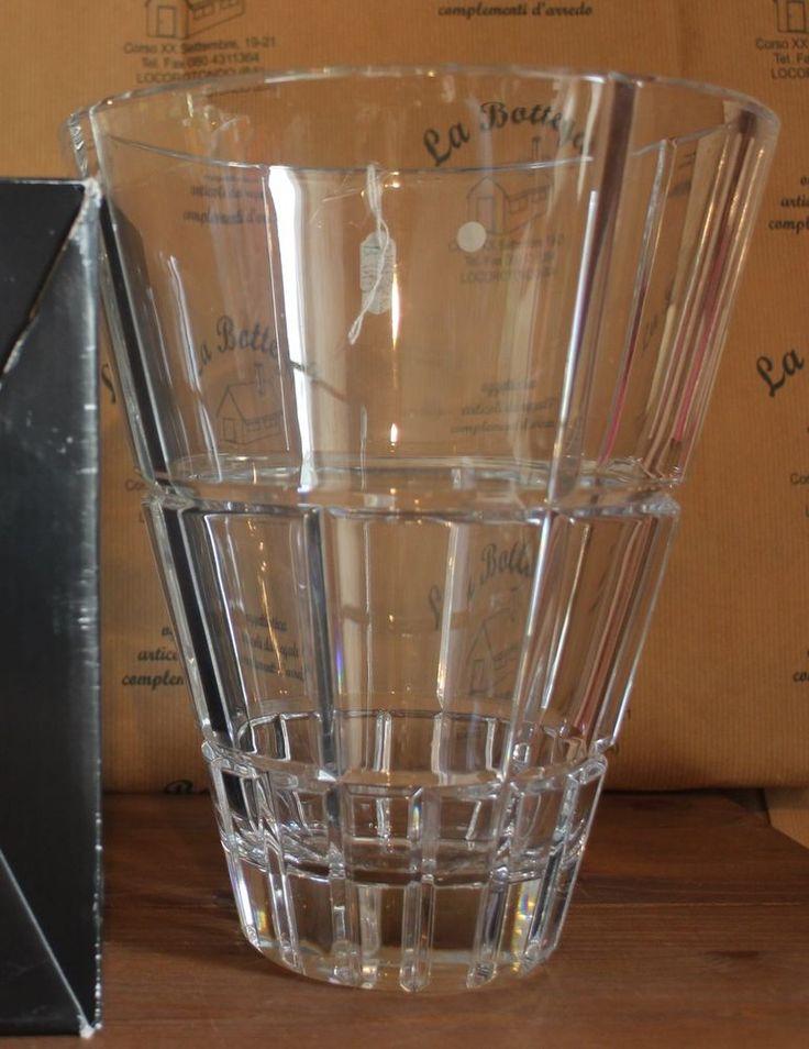 Vaso cristallo 23 cm ROSENTHAL