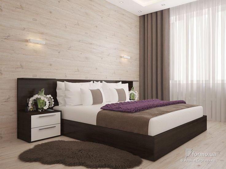 Квартира для дружной семьи, Алина Сергиенко, Спальня, Дизайн интерьеров Formo.ua