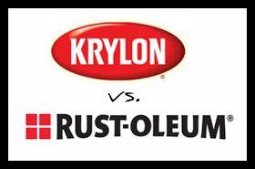 Life on Mars: Krylon vs. Rustoleum: Spray Paint Comparison (www.ChefBrandy.com)