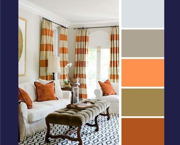 8 Best Paduan Warna Pada Ruang Tamu Images On Pinterest Colour Schemes Color Combinations And Palettes