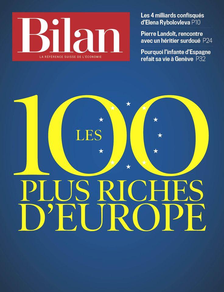 Les 100 plus riches d'Europe. Bilan No 13