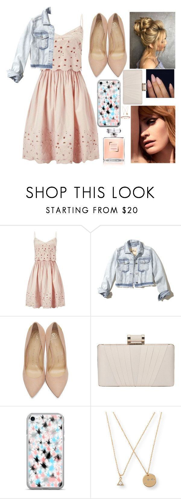 """the girl next door style"" by danifashionblog ❤ liked on Polyvore featuring Miss Selfridge, Hollister Co., Charlotte Olympia, Phase Eight and Aéropostale"