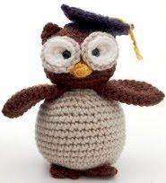 Free Amigurumi Patterns: Graduation Owl