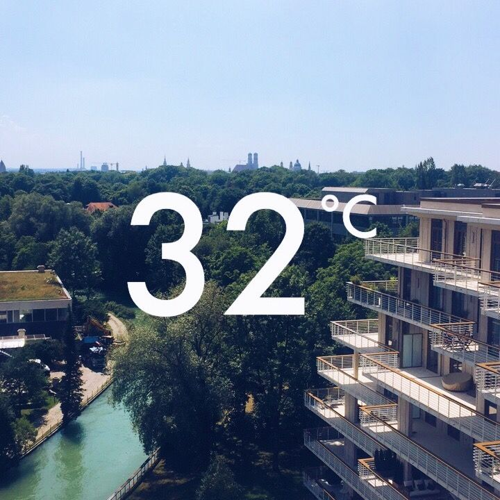 Don't forget to hydrate after work in the beer garden of your choice #workingwithaview #RolandBerger #Heatwave #Munich #summer #officegoals