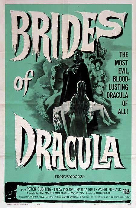 The Brides of Dracula (1960)   85 min  -  Horror . . . http://www.imdb.com/title/tt0053677/ . . . http://en.wikipedia.org/wiki/The_Brides_of_Dracula_(film)