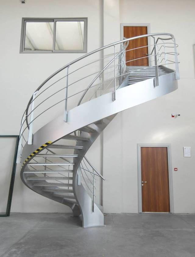 tangga putar melingkar