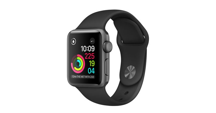 Shop Apple Watch Series 2 featuring built-in GPS in a 38mm Space Grey Aluminium case with Sport Band. Buy now with fast, free shipping.