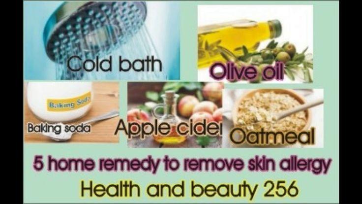 5 home remedy for skin allergy 2018| allergy reaction on face 2018