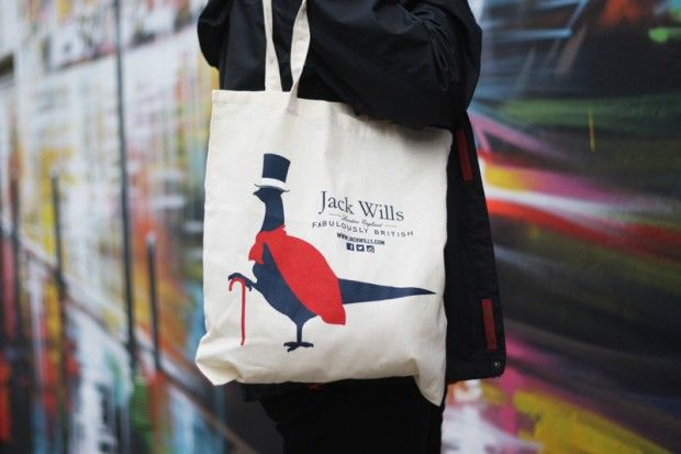 Branded Tote Bags Jack Wills by Think Tank Media
