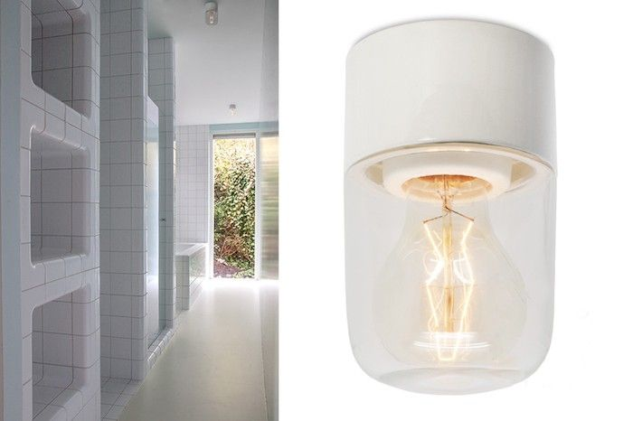 Zangra's Pure Porcelain 008-02 hardwired light is one of the models being retrofitted for US electrical requirements.