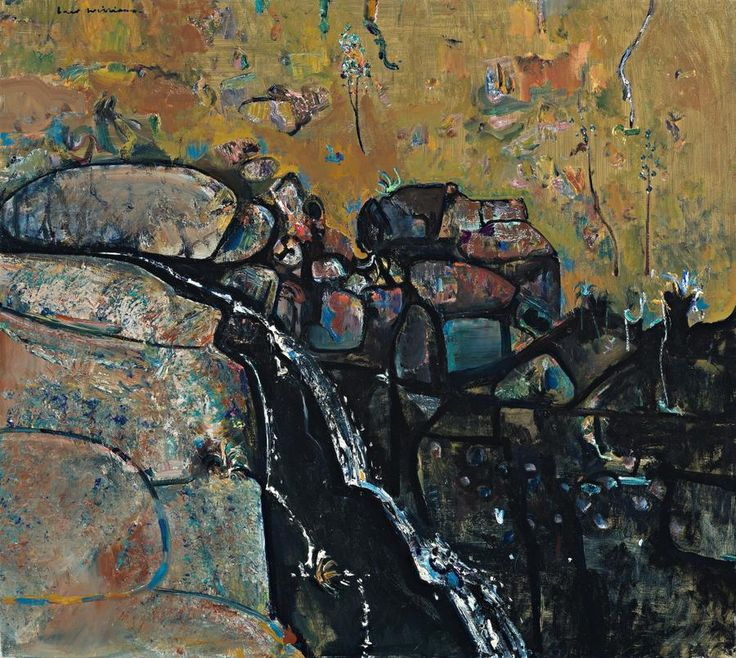 FRED WILLIAMS TURRITABLE FALLS I, 1979 oil on canvas