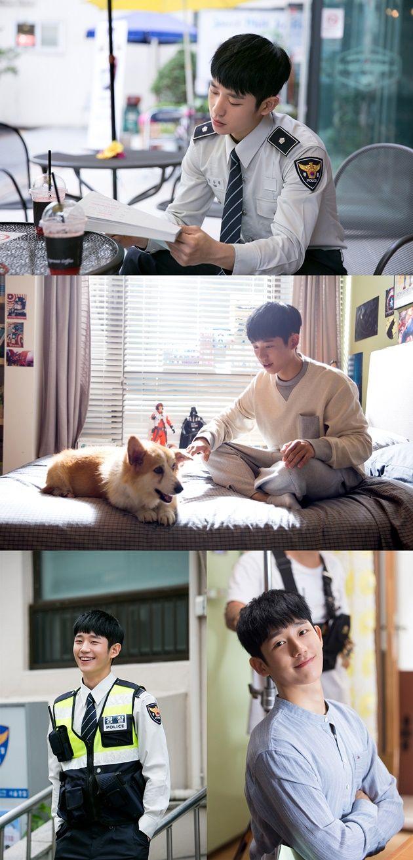 Senyum Manis Jung Hae In di Foto-Foto BTS 'WYWS'