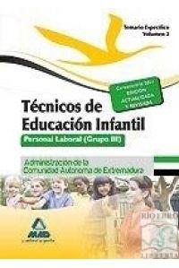 TECNICO EDUCACION INFANTIL II TEMARIO ESPE.EXTREMA.2014