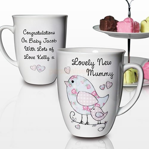 102 best mugtasse etc images on pinterest china painting dish personalised godmother floral bird latte mug in stock now with fast uk delivery gifts for godmothers from pgs negle Choice Image