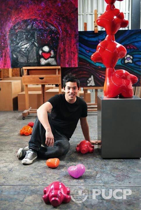 El talentoso Marcelo Wong