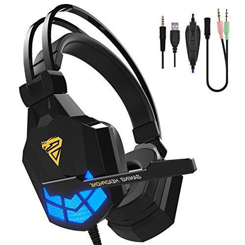 Kworld Over-ear Headphones, Lightweight PC Gaming Headset... https://smile.amazon.com/dp/B0748HSGQ6/ref=cm_sw_r_pi_dp_x_Uy0fAb0TP6JQC
