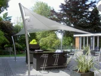 Diy Back Yard Canopy | Do It Yourself Outdoor Canopy | Trails.com | Patio |  Pinterest | Patio Shade