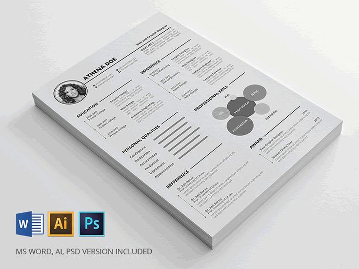 Best 25+ Free resume templates word ideas on Pinterest - real free resume builder