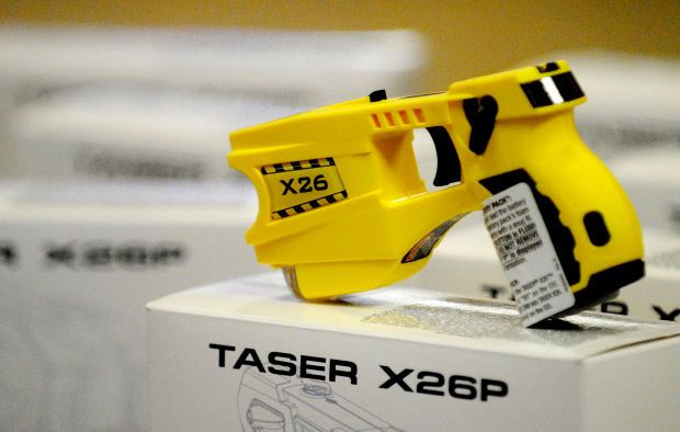 Each Williamson County Sheriff's Department officer working on the road will soon be equipped with one of 18 brand new TASER X26 CEWs.  Thanks to Black Diamond Harley Davidson in Marion, IL!  http://thesouthern.com/news/local/volunteer-efforts-equip-deputies-with-tasers/article_ecb97840-5723-11e3-b0d4-001a4bcf887a.html
