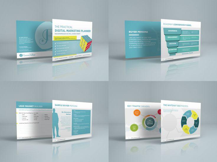Digital Marketing Workbook Design