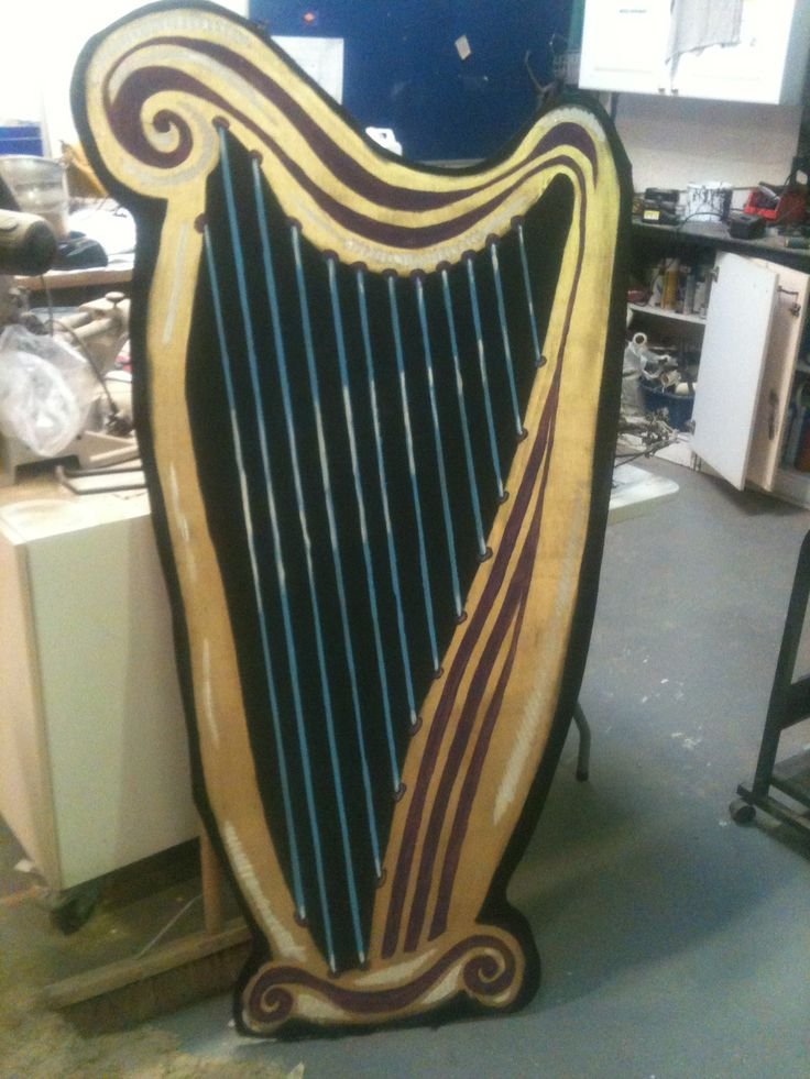 Harp for Jack and the a beanstalk 2013.