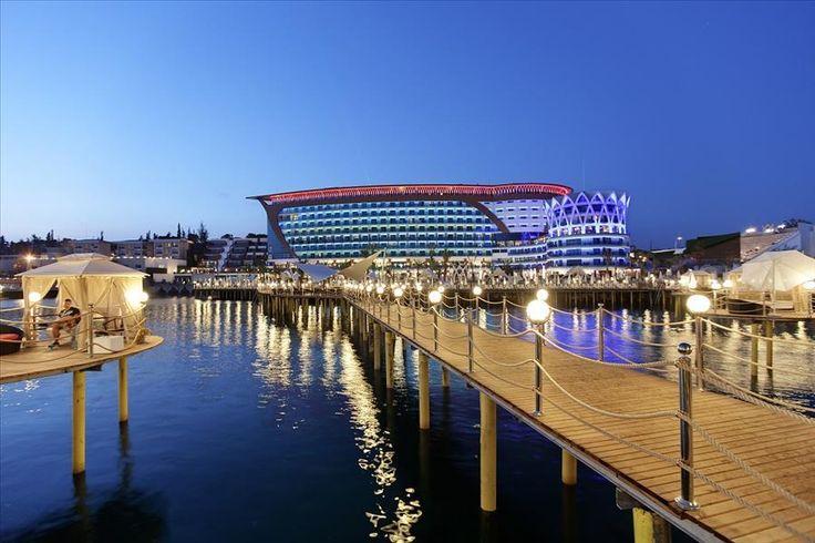 Granada Luxury Resort & Spa - 15 nap / 14 éj , Last minute, repülővel, Hotel, 5*, ultra all inclusive - Törökország| BUDAVÁRTOURS