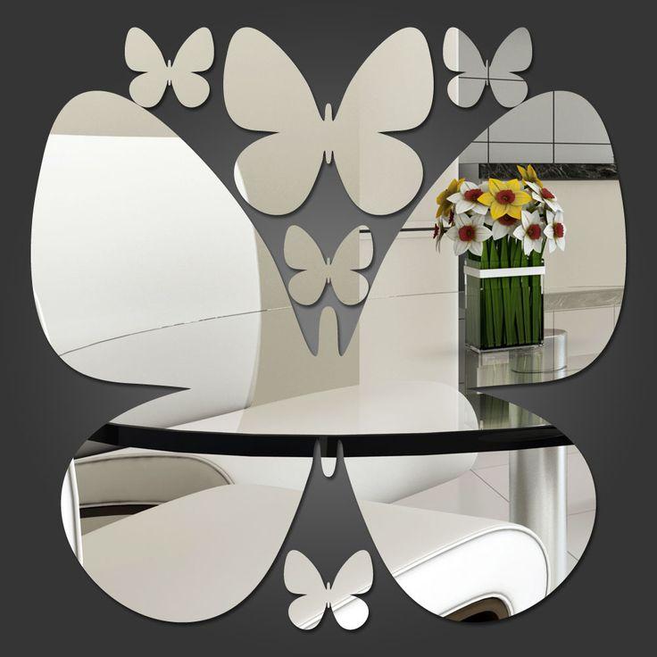 Espelho Decorativo Borboletas II