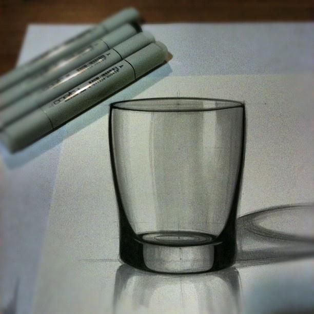 Sketch-It! by LTrovati - transparent glass