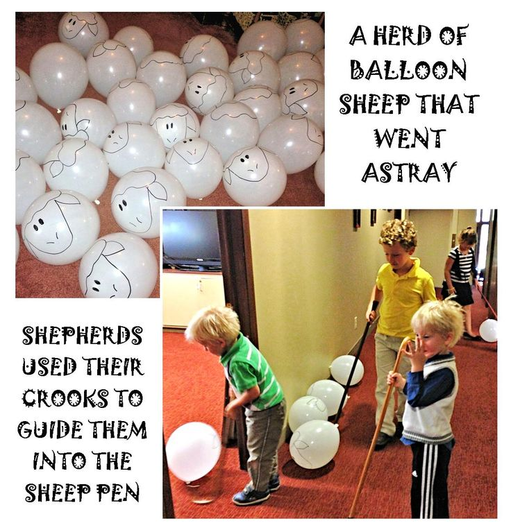 Fun shepherd experience for kids, fits a lot of lessons involving sheep, going astray, lost and then found, the Good Shepherd, etc.