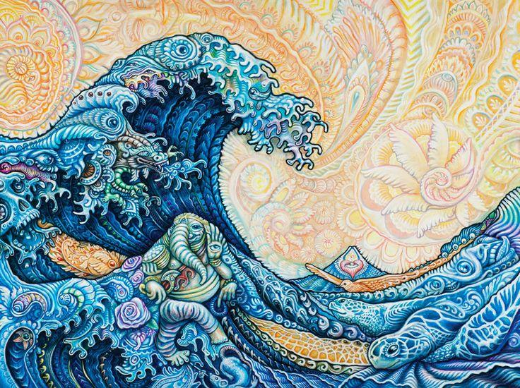 "tryppi: "" Hokusai - The Great Wave (RR Remix) - Randal Roberts """