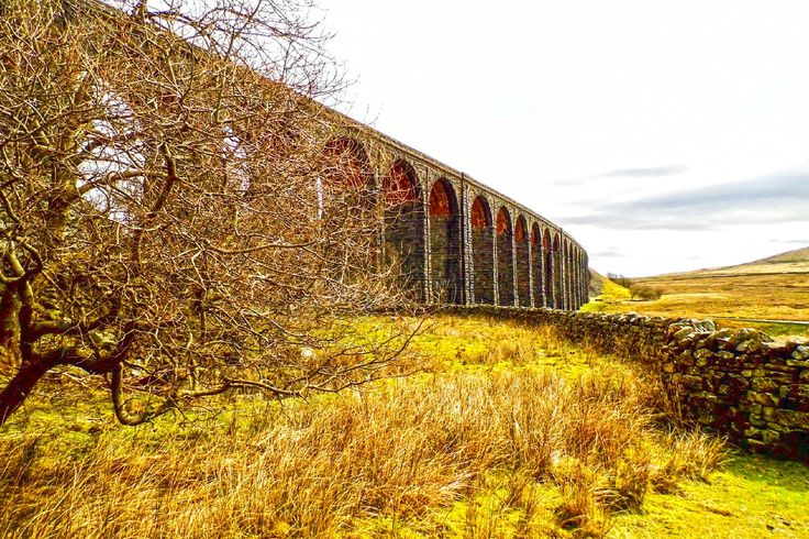 I took this in April 2015 at the Ribblehead Viaduct, North Yorkshire. The viaduct stands as a lonely structure across the moorland valley, features 24 arches and was opened in 1875. It has survived several attempts to close the line and viaduct and now only carries trains via a single track atop the structure. More of my pictures and information can be seen at, www.colingreenphotography.blogspot.co.uk