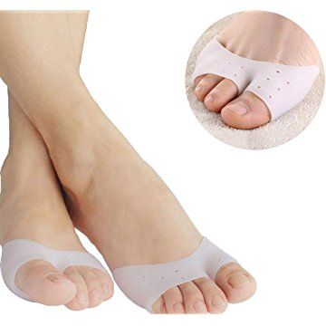 Metatarsal Pads foot Cushions Pads Toe Protector Ball-of-foot Cushion Pain Relief (1 Pair)