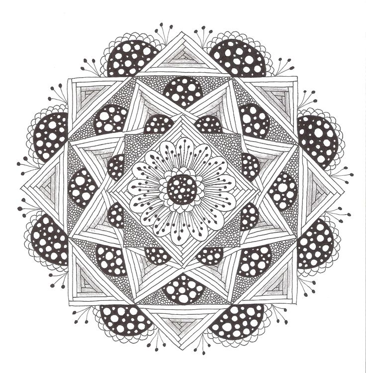 Zen Mandalas Coloring Book : 225 best zen mandala images on pinterest
