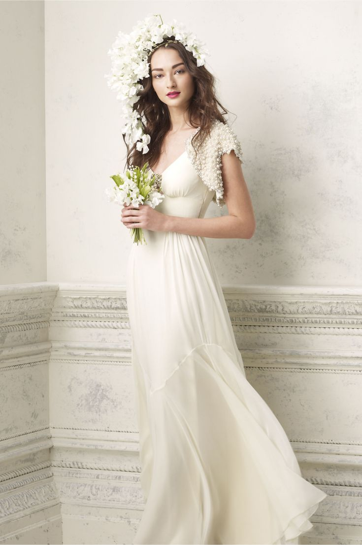 Simple Off White Wedding Dress - Informal Wedding Dresses for Older Brides Check more at http://svesty.com/simple-off-white-wedding-dress/