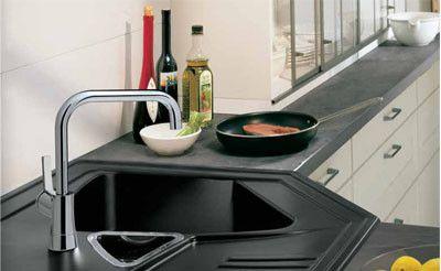 17 mejores ideas sobre cocina con fregadero en esquina en - Soluciones para muebles de cocina en esquina ...