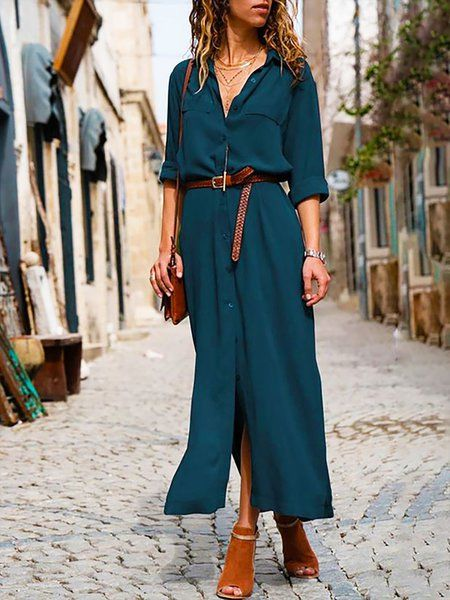 f85597d376e Buy Summer Dresses For Women at JustFashionNow. Online Shopping  JustFashionNow Deep blue Women Summer Dress Shift Date Dress Short Sleeve  Linen Paneled ...