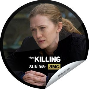Steffie Doll's The Killing: Scared and Running Sticker | GetGlue
