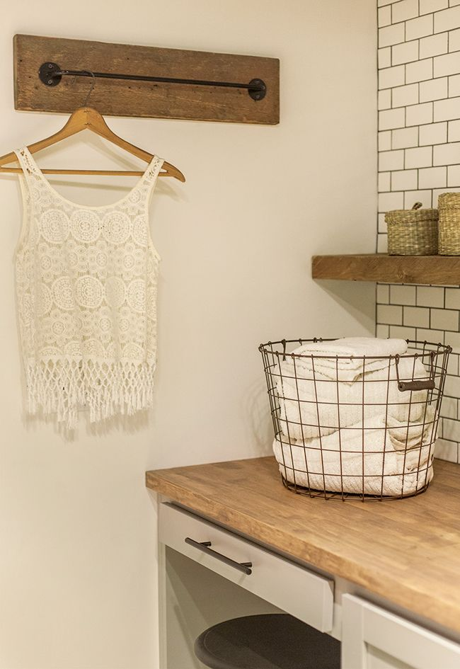 Clean Pinterest Laundry Room And
