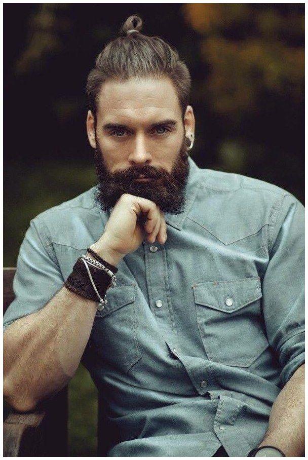 Longhaircut Guyshair Guyshairstyles That Stare Click Now For More Man Bun Hairstyles Long Hair Styles Men Beard Styles