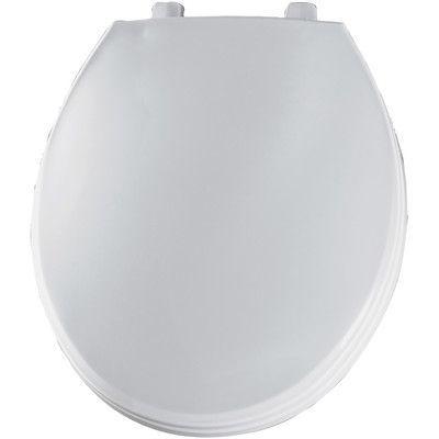 bemis solid plastic round toilet seat hinge type check hinge