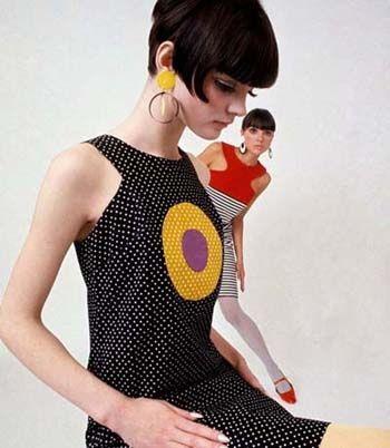 1960's Mod fashion shoot