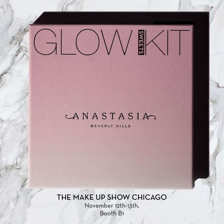 Chicago, we will be at @themakeupshow this weekend!  Come see us Booth 1  #anastasiabeverlyhills