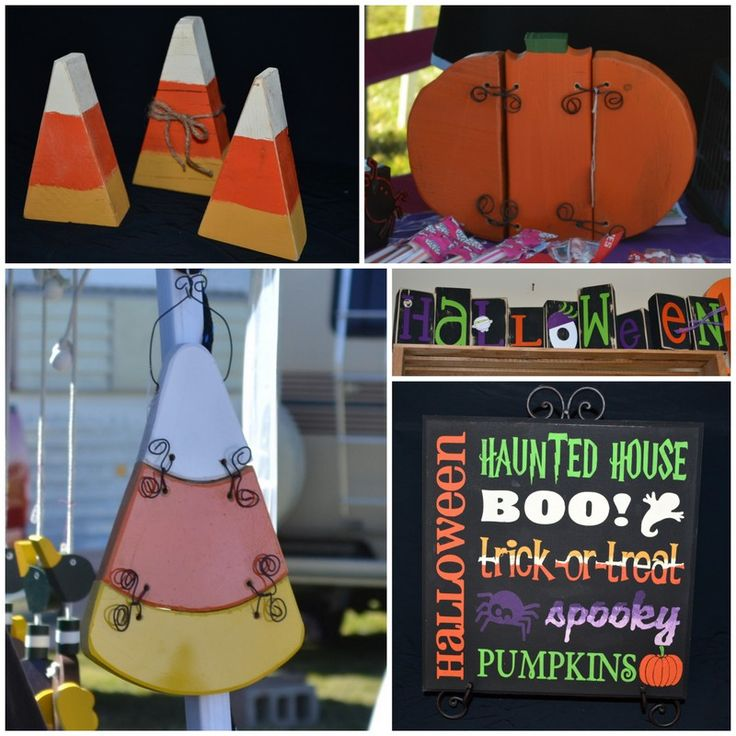 Halloween Wood Crafts you can make with your kids!