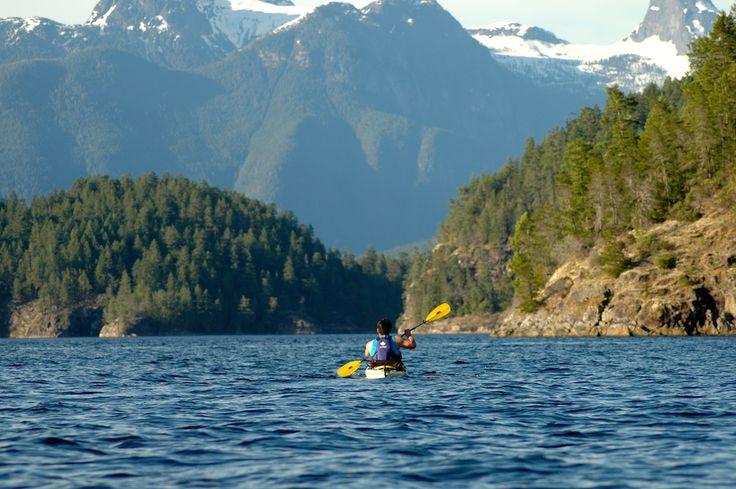 Desolation Sound Kayak Adventures   Kayak BC   Wildcoast