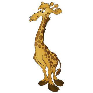 Cartoon Giraffe - Giraffe Images