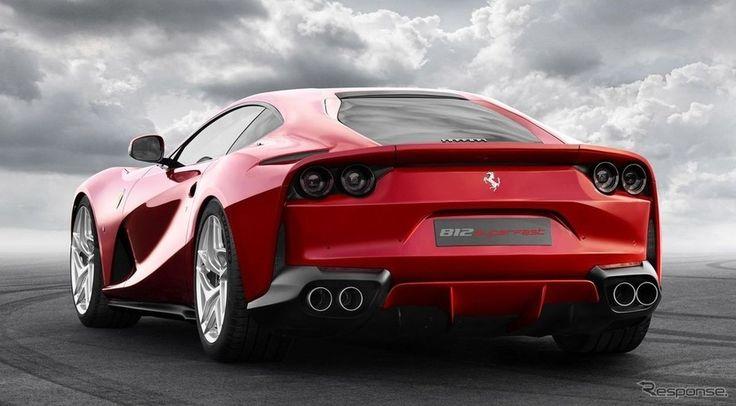 【ジュネーブモーターショー2017】フェラーリ、812スーパーファスト 初公開予定…F12 後継は800馬力 - 【モーターショー】ニュース - carview! - 自動車