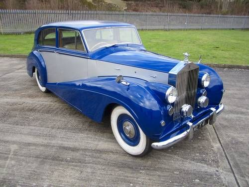 1951 Rolls Royce Silver Wraith By Freestone and Webb For Sale