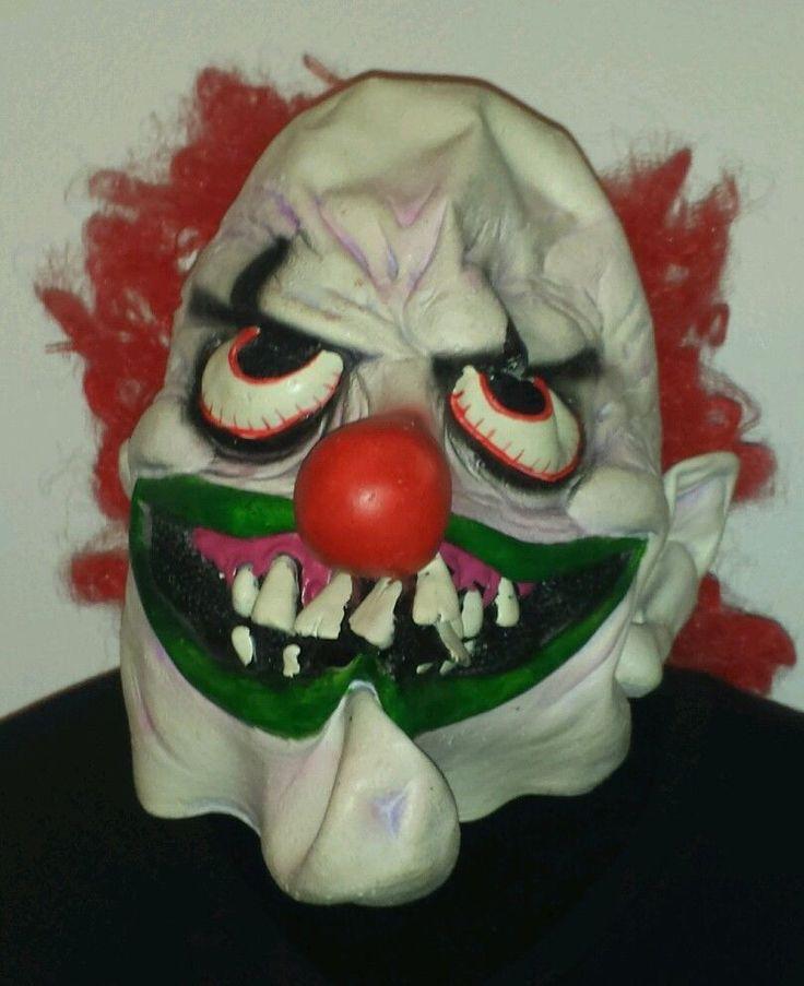 Rubber Clown Mask