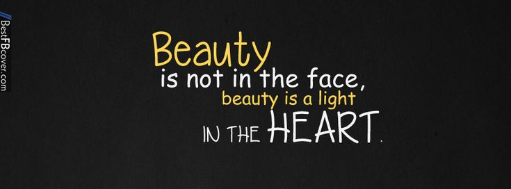 Beauty Quotes Facebook Cover Best FB Cover cover